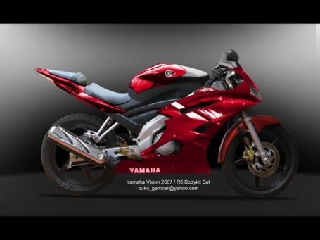 Yamaha Vixion R6 Bodikit Set
