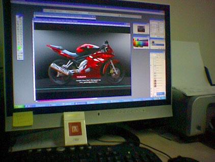 Vixion on Screen