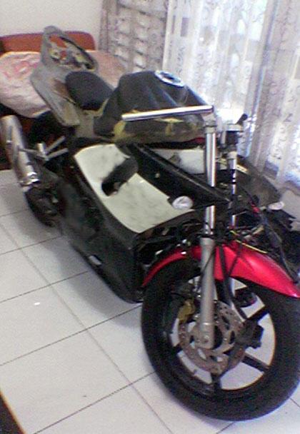 Modif Yamaha Vixion R6